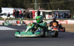 Karting World's Adam Hunter holds a strong lead in the DD2 Masters rankings entering the Nationals (Pic: Coopers Photography)
